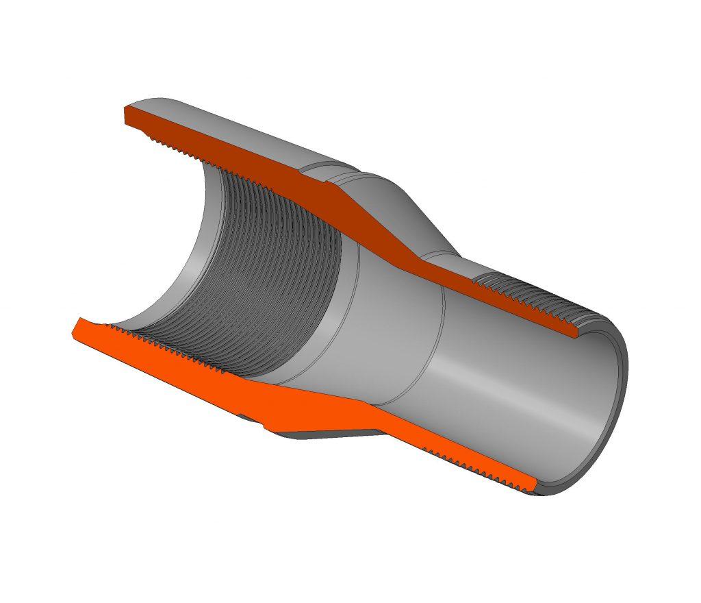 Переводник для насосно-компрессорных труб